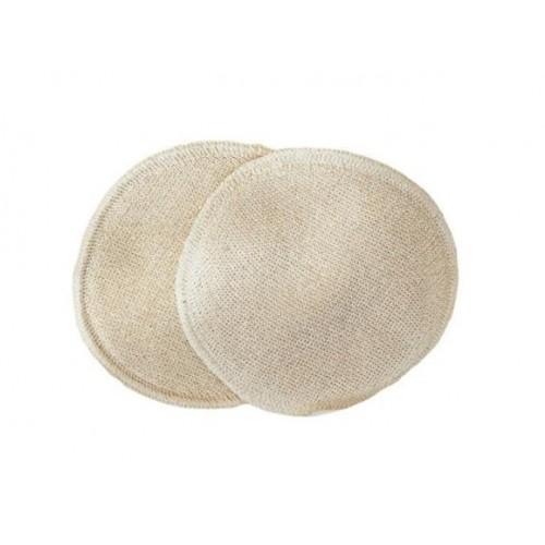 Bio-Stilleinlagen Wolle/Seide 2-lagig