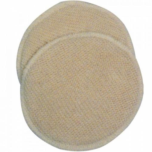 Bio-Stilleinlagen Wolle/Seide 3-lagig