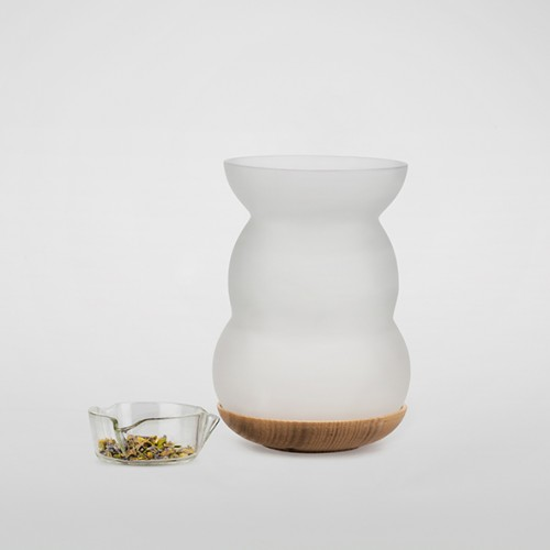 Duftlampe Lucerna, Lebensblume weiß
