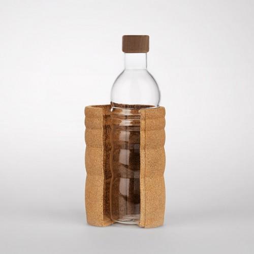 Trinkflasche Lagoena mit Korkmantel