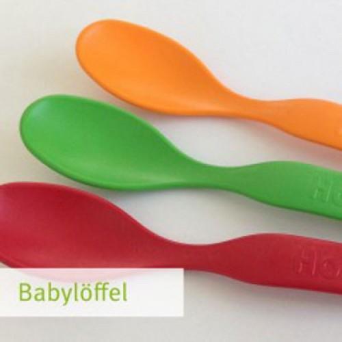 Babylöffel aus Biokunststoff – 6er Pack