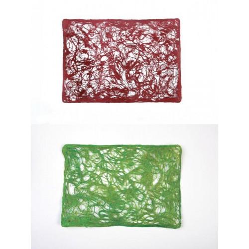 Wandbehang &Tischdecke – recycelte Bananenfasern
