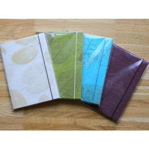 Öko Notizbuch - Skizzenbuch verschiedene Farben