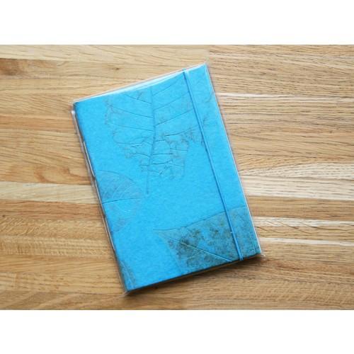 Feines großes Notizbuch – Skizzenbuch Türkis Öko-Papier