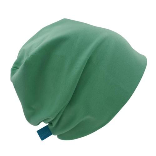 Mütze 'Line' Uni verschiedene Grüntöne - Bio-Jersey | bingabonga
