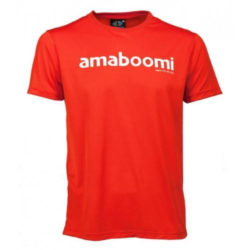 Herren T-Shirt ATACAMA 100% recycled – Magma Rot