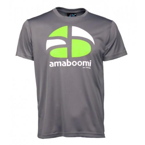 Herren T-Shirt HUAGAPO 100% recycled – Aschgrau