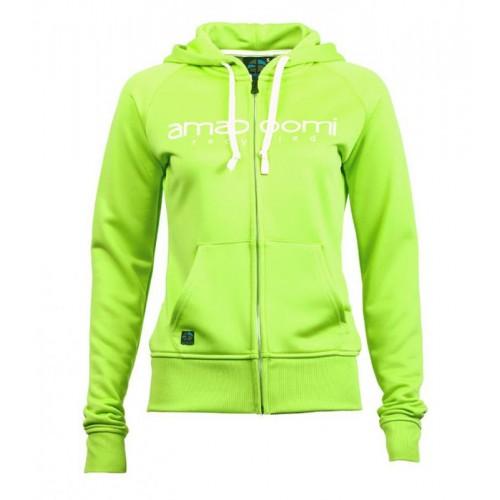 Recycling Damen Sweatjacke MALASPINA Grün