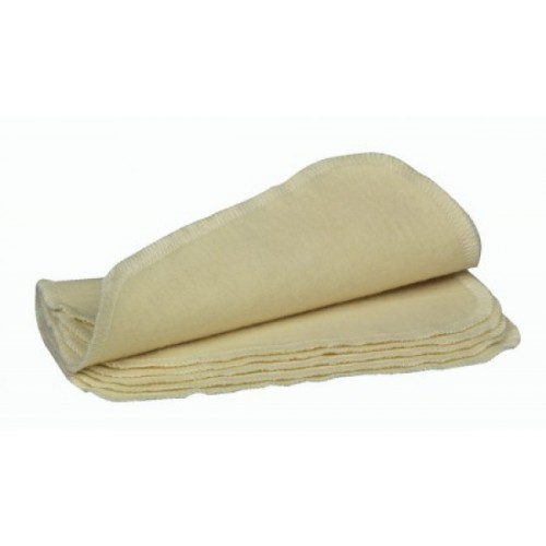 Bio Baby Pflegetücher ungebleichte Bio-Baumwolle | ASMi