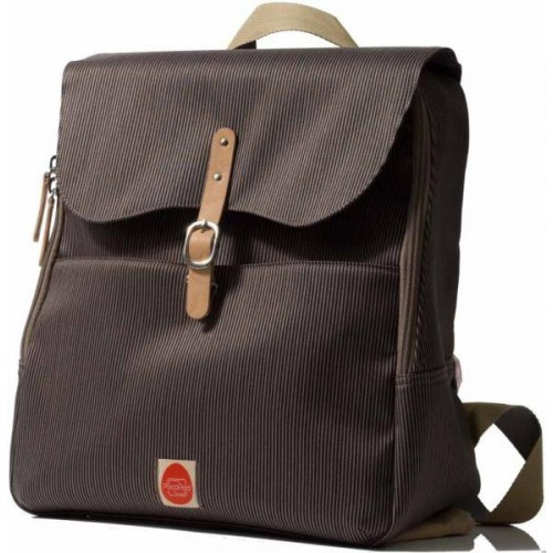PacaPod Hastings Mocha – Wickeltasche – Rucksack – Messenger Bag