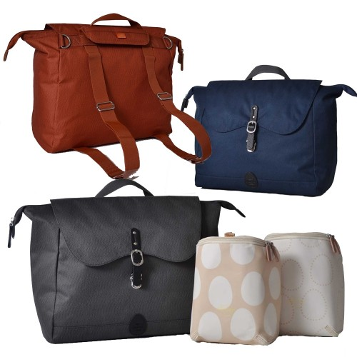 PacaPod Nelson Wickeltasche & Rucksack & Messenger Bag