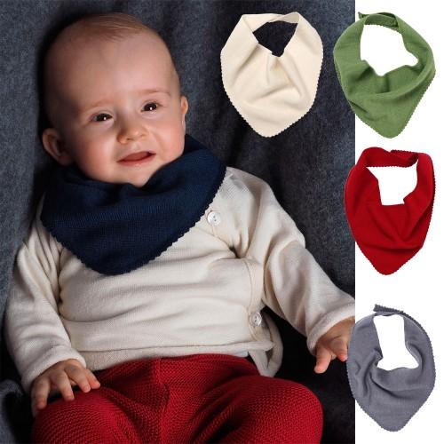 Reiff Baby Dreieckstuch & Schal aus Bio Wolle & Seide