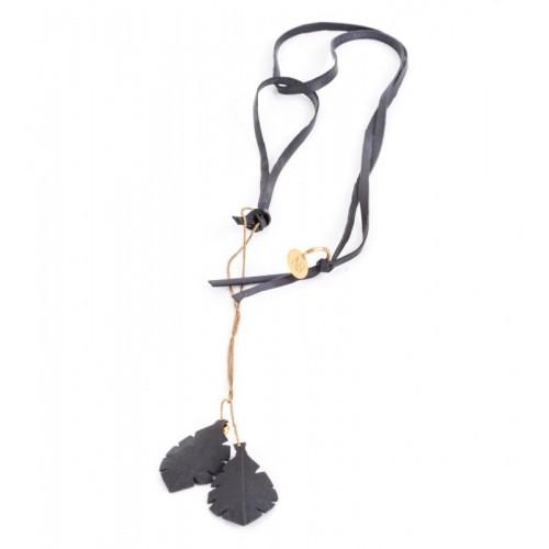 K7/B Halskette Upcyling aus Fahrradschläuchen