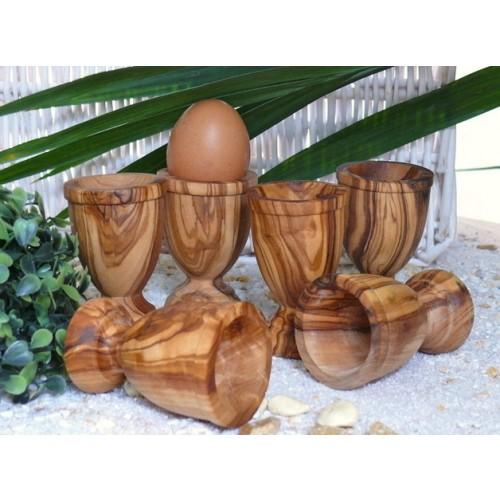 Eierbecher KLASSIK aus Olivenholz | Olivenholz erleben