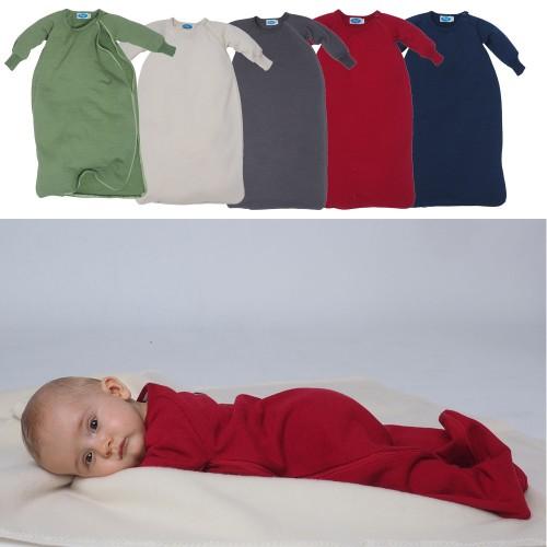 Bio Frottee Baby-Schlafsack mit Arm   Reiff