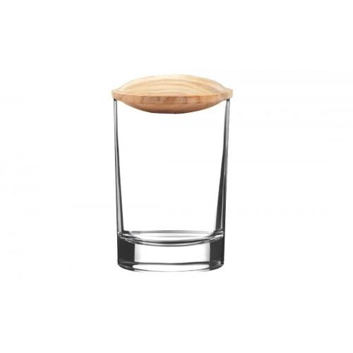 Verschluss für Gläser aus Olivenholz | Olivenholz erleben
