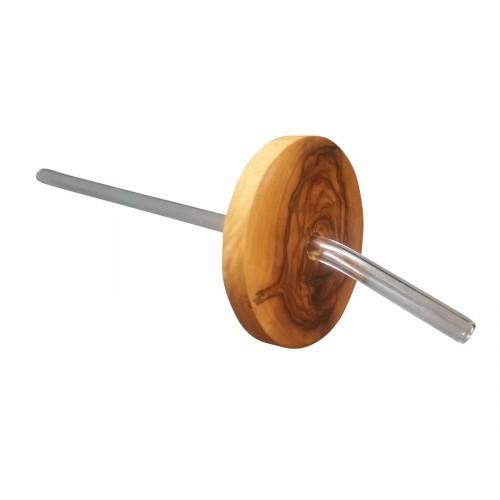 Schutzdeckel aus Olivenholz für Gläser » D.O.M.