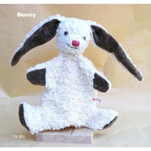 Handpuppe Hase Benny Bio Baumwolle