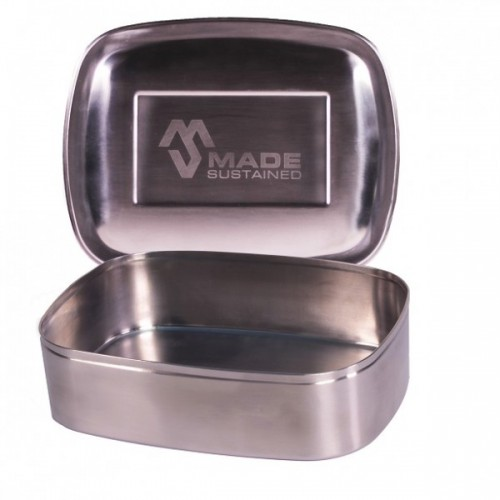 Eckige Lunchbox – Brotdose aus Edelstahl | Made Sustained