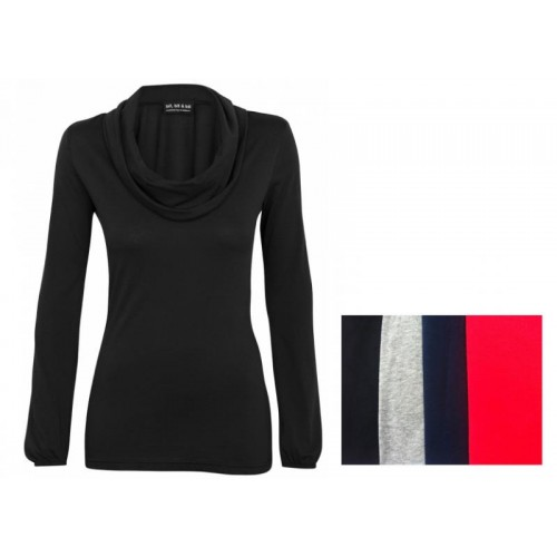 Damen Langarm-Shirt – Rollkragenshirt | bill bill & bill