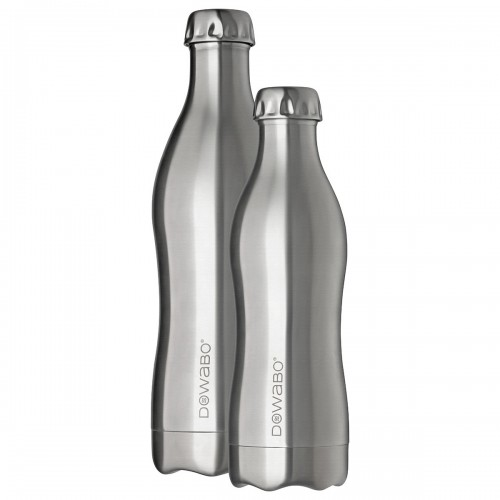 DOWABO Edelstahl Isolierflasche Pure Steel Collection