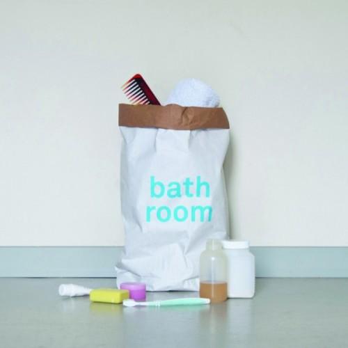 Badezimmer Papiersack von kolor