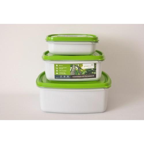 Greenline Frischhaltedosen Quadrat - Gies