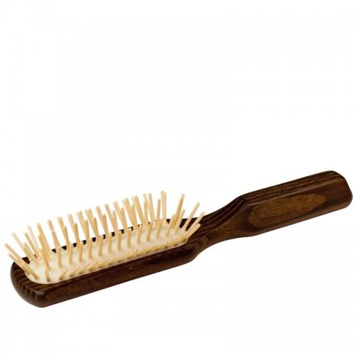 Haarbürste, länglich, geöltes Thermoholz | Redecker