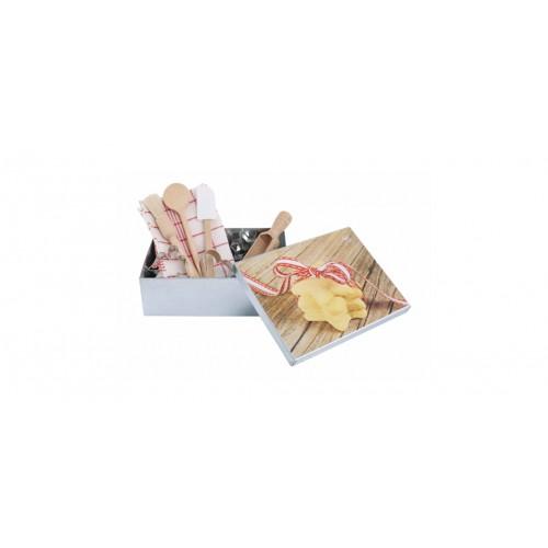 Kinder Keks-Kiste mit Backzubehör - Öko Backset | Redecker