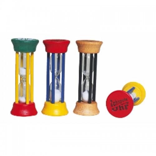 Zahnputzuhr aus Holz – verschiedene Farben | Redecker