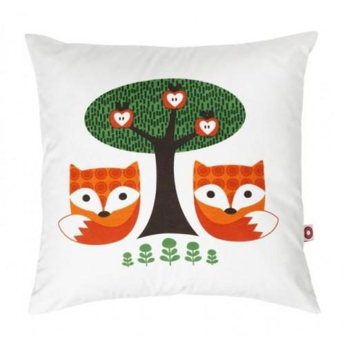 Kinderkissen & Zierkissen Fuchs Viola aus Bio-Baumwolle