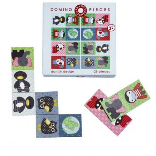 Domino Gerda aus Recycling-Karton