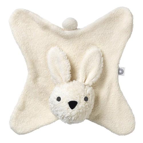 Franck & Fischer Schmusetuch Kaninchen Anika – weiß