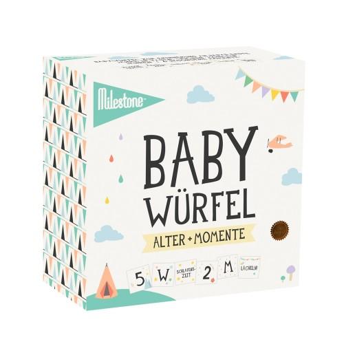 Milestone Babywürfel für die ersten Jahre & Momente - deutsch