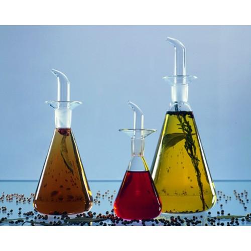 Öl- und Essiggießer aus Glas