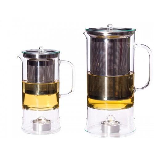 Teekanne SIGN 0,6 l o. 1,2 l & Stövchen | Trendglas Jena