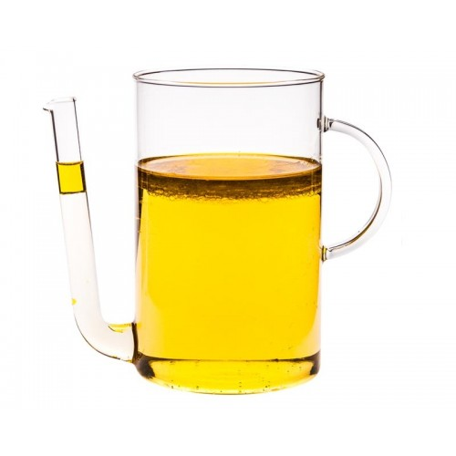 Trendglas Jena Fett-Trenner 1,2 l – hitzebeständiges Glas