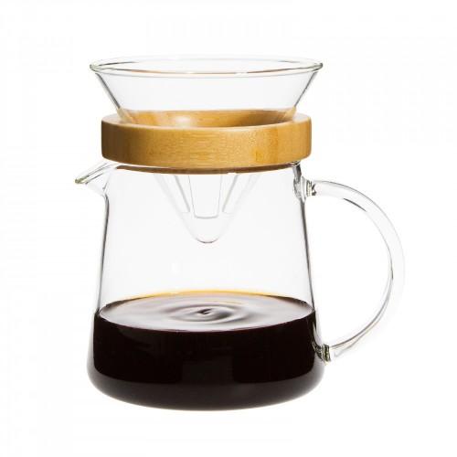 POUR OVER TWO LA Kaffeebereiter 1-3 Tassen | Trendglas Jena