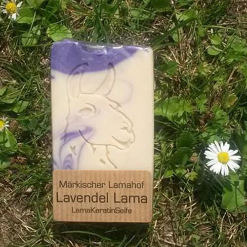 Lavendel Lama Keratin Naturseife | laRiSavon