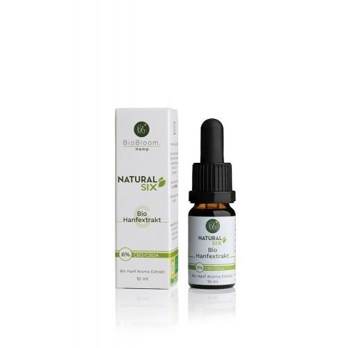 6 Prozent Bio CBD Öl – NaturalSIX 10ml | BioBloom