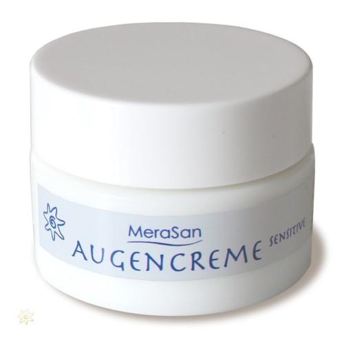 Parfümfreie Augencreme Sensitive von MeraSan