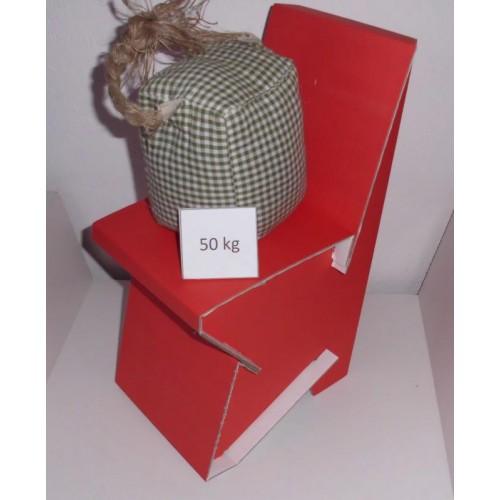 Paulines Pappstuhl – Kinderstuhl aus Recycling Pappe