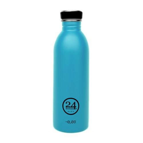 Edelstahl Trinkflasche 0,5L lagoon blue | 24Bottles