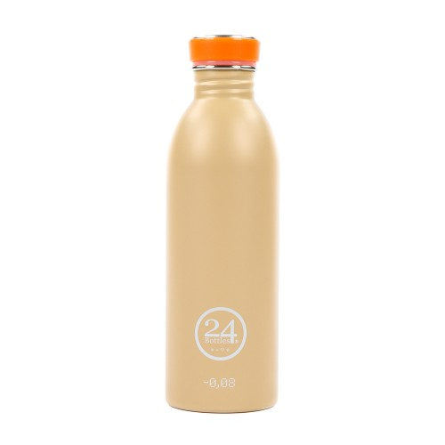 Edelstahl Trinkflasche 0,5L desert sand