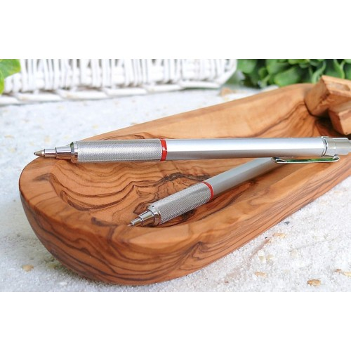 Olive Wood Tray for Pens & Utensils, 30 cm | Olivenholz erleben