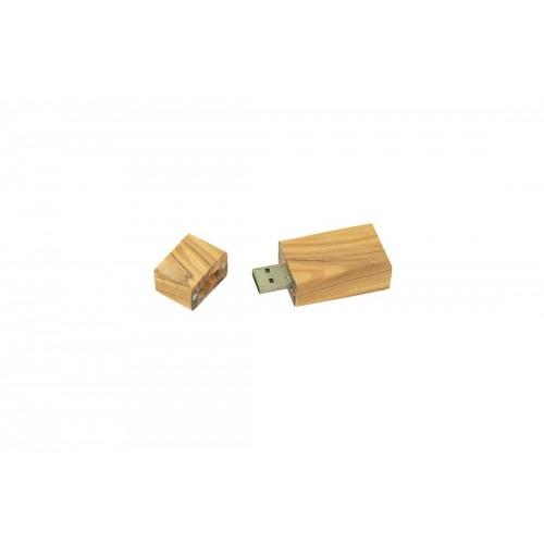 USB-Stick in Olivenholz Korpus | Olivenholz erleben