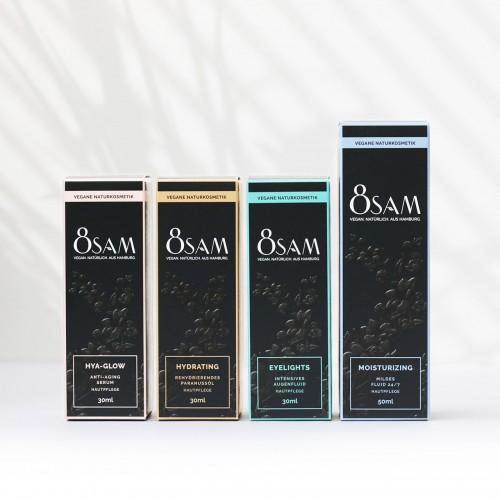 8SAM SET NO3 Pure Feuchtigkeit Hautpflegeset