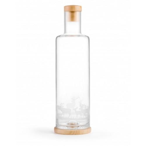 Servierflasche Hirsche mit Zirbenholz Verschluss, 1 L | Nature's Design