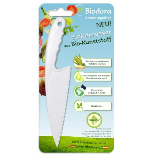 Salatmesser aus Biokunststoff