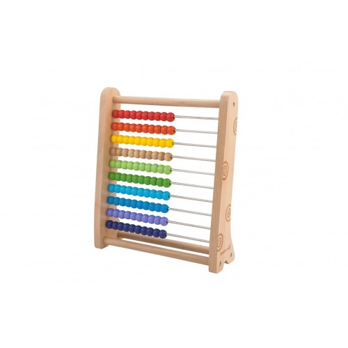 EverEarth Rechenschieber Abacus - Öko Holzspielzeug